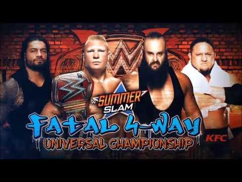 WWE Summerslam 2017 Review