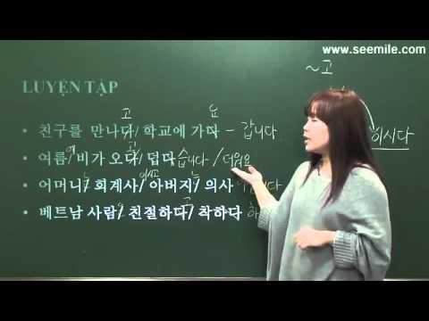 01.Tiếng Hàn Trình Độ Sơ Cấp