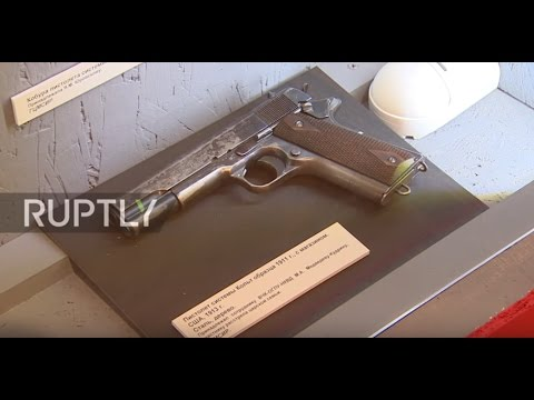 Russia: Pistol used to execute Nicholas II exhibited in Moscow museum