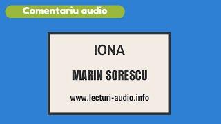 Iona-Marin Sorescu Comentariu bacalaureat