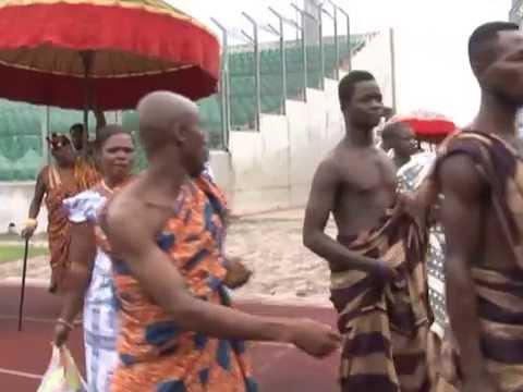 Arrival of Chiefs to Otumfuo Osei Tutu II 15th Anniversary