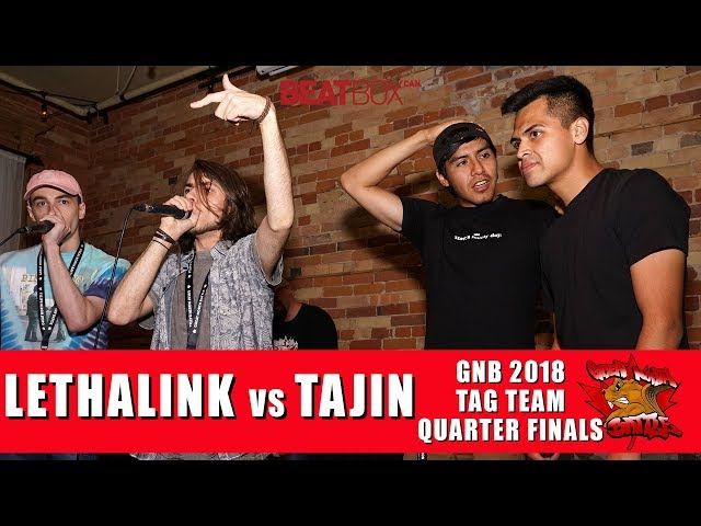 Lethalink vs Tajin | GNB 2018 | Tag Team - Quarter Finals
