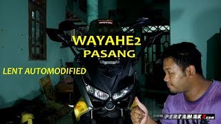 Wayahe Pasang Bodykit Lent Automodified Yamaha Nmax Headlamp Aerox DIY modifikasi