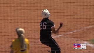 Jacksonville State Softball Highlights - JSU DH vs. Tennessee Tech - May 4, 2018