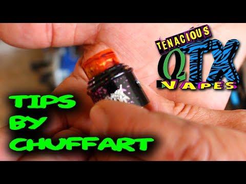 Acrylic Drip Tips!!!! chuff art