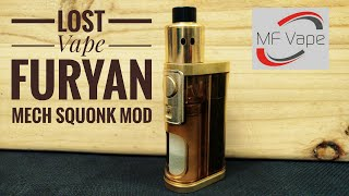 Lost Vape Furyan Mechanical Squonk Mod 21700/20700/18650