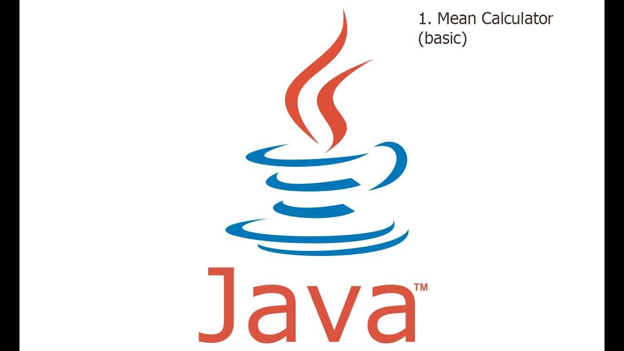 Calculate Mean In Java
