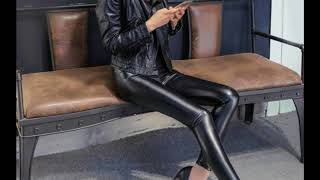 The Leather Pants for Tall Women