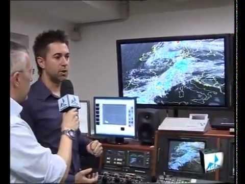 Marco Rabito in diretta su TVA sulla situazione meteo