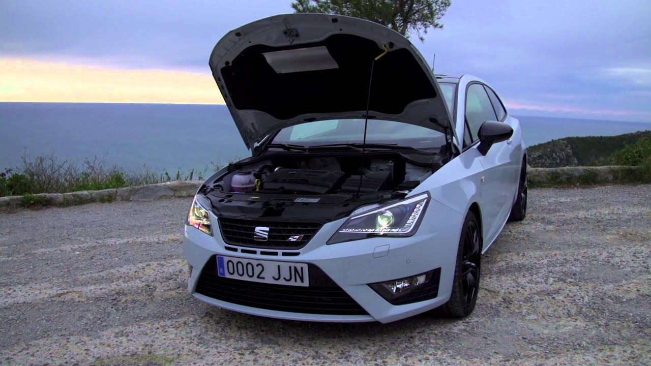 seat ibiza cupra 2016 youtube. Black Bedroom Furniture Sets. Home Design Ideas