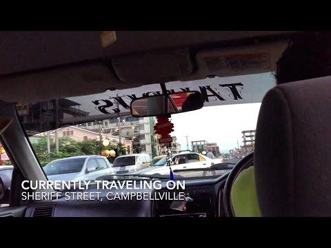 Traveling Around Georgetown- Republic Of Guyana (HD) (60FPS)