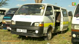 SACCO Matatus Grounded Following Masii Accident