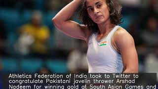India congratulate Pak athlete for qualifying for Olympics, praised for tweet
