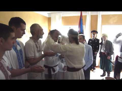 Becoming A Kozak - Kiev Ukraine 18may2014