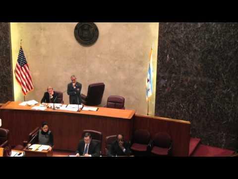 Parade Ordinance - Chicago City Council (01.18.12)