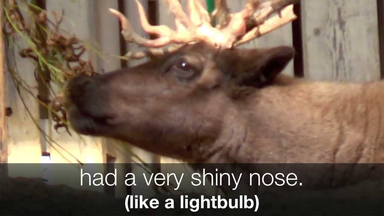 rudolph the red nosed reindeer childrens christmas song lyrics youtube