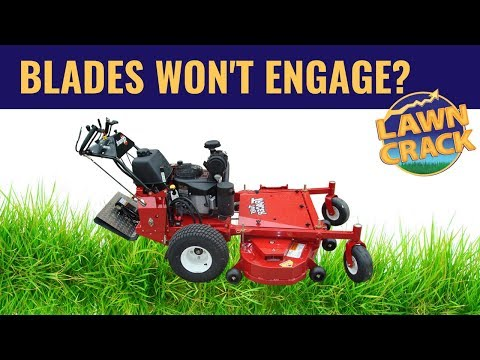 My Blades Won't Engage? Trouble shooting COMMERCIAL lawn mower blade engagement issues