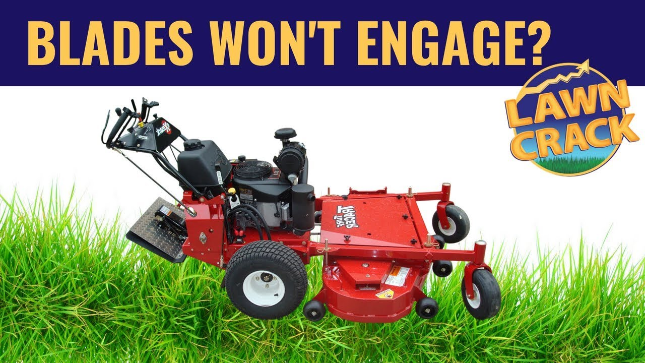 Your Blades Won't Engage??? Trouble shooting COMMERCIAL lawn mower blade  engagement issues
