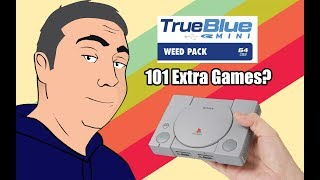 I Bought the True Blue Mini Weed Pack - Another 101 Games for my Playstation Clasic