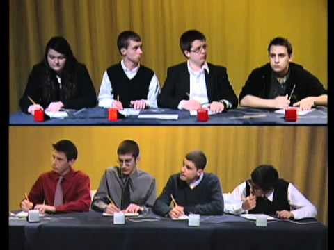 2012 West Kentucky Academic Bowl: Lone Oak vs Marshall Co.