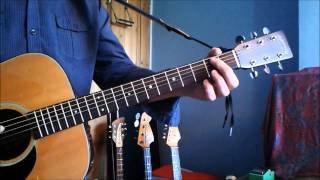 JOHNNY CASH, RUSTY CAGE, GUITAR BREAKDOWN/LESSON IMPROVED VOLUME HD