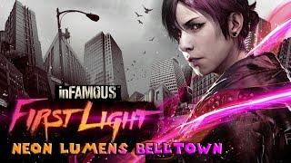 inFamous First Light (PS4) All Neon Lumens - Belltown