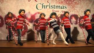 kids christmas performance jingle bell rock
