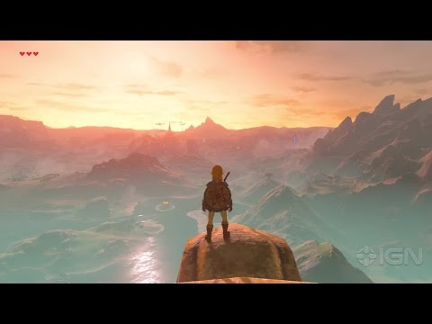 A Full Day and Night Cycle in The Legend of Zelda: Breath of the Wild (Nintendo Switch)