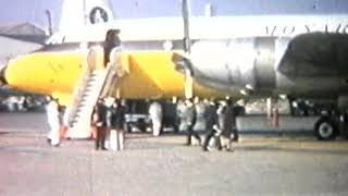 Monarch Airlines, first Cosmos flight 5th April 1968, Bristol Britannia from Luton Airport ...