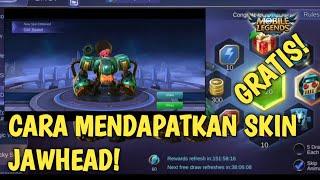 CARA MENDAPATKAN SKIN JAWHEAD! DI LUKY SPIN! - MOBILE LEGEND INDONESIA