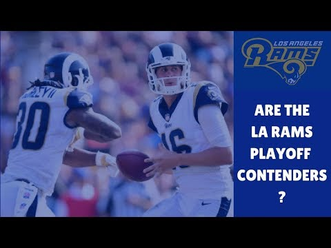 Are the Los Angeles Rams Playoff Contenders? Rams Offense Legit This Season? | 2017 NFL SEASON