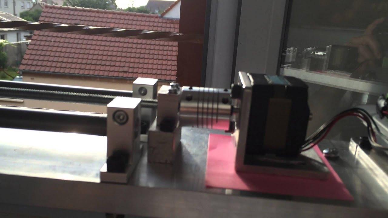 Rail de travelling fait maison youtube - Fabriquer album photo maison ...