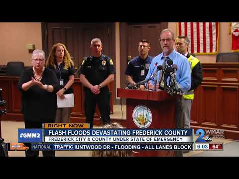 Severe weather sparks State of Emergency for Frederick County