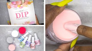 DIY Testing Dip Powder Nail Kit from Amazon Prime - Azure Beauty