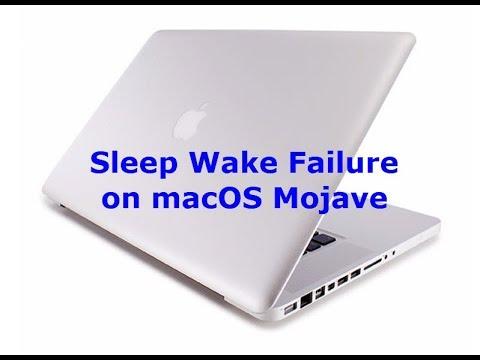 Sleep Wake Failure on macOS Mojave? Here's the fix - YouTube