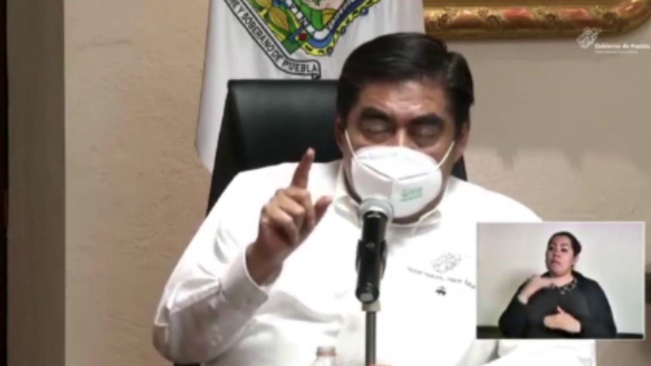 El gobernador Miguel Barbosa reiteró el apoyo a la federación