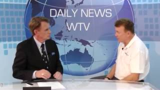 David Hobbs Interview on The Daily News with Russell  on West TV