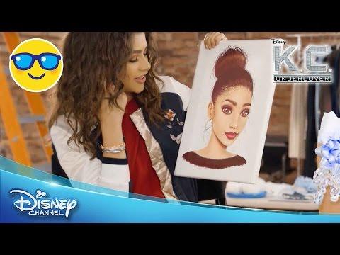 Disney Star Potraits | Zendaya | Official Disney Channel UK