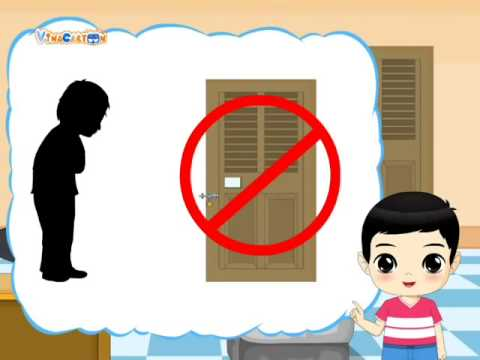 Kỹ năng sống   Mầm non   Tập 5   Không nên mở cửa cho người lạ