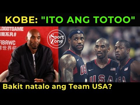 Kobe Bryant, INILAHAD ang Katotohanan kung Bakit NALAGLAG ang TEAM USA sa FIBA World Cup