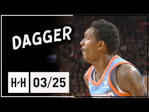 Lou WIlliams Full Highlights Clippers vs Raptors (2018.03.25) - 26 Points off the Bench!