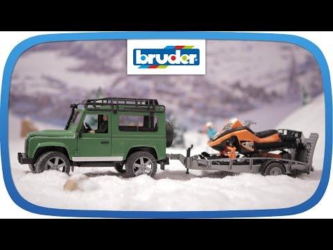 land-rover-mit-snowmobil-und-anhänger----02594----bruder-spielwaren