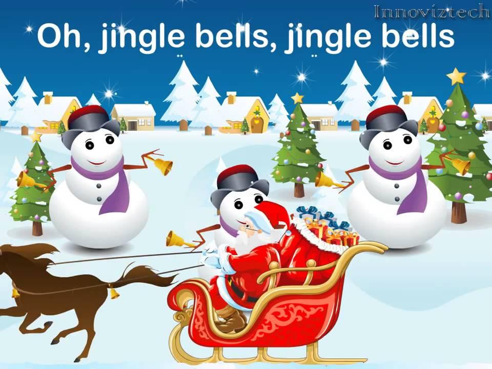 Nursery Kids Rhyme Jingle Bells Jingle Bells Christmas song - YouTube