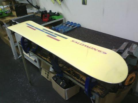 Как заточить канты на сноуборде, домашних условиях, без специального оборудования