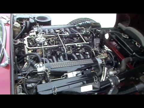 Jaguar E V12 Fuel Injection Youtube