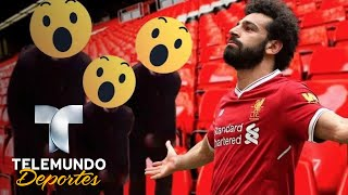 La reacción más eufórica de un fan de Salah y del Liverpool   Champions League   Telemundo Deportes