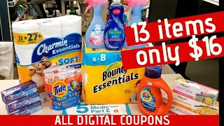 Walgreens Couponing Easy! ALL DIGITAL COUPONS | One Cute Couponer