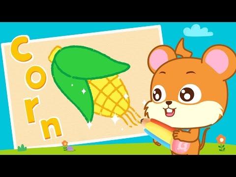 Corn | Funny Cartoons | I Love Drawing | BabyBus