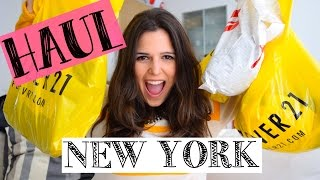 Compras New York Fashion Haul: FOREVER 21, H&M! (Argentina) STEPHT