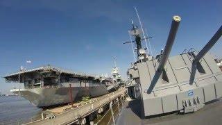 2015 USS YORKTOWN Tour Mount Pleasant, SC.